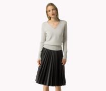 Sweater Mit V-ausschnitt Aus Woll-kaschmir-mix