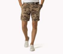 Denton Straight Fit Shorts Aus Baumwoll-mix