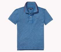 Poloshirt Aus Baumwoll-jersey