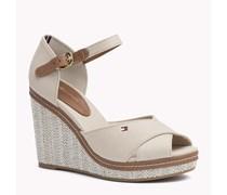 Gemischte Sandale Mit Keilabsatz