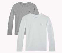 2er-pack Baumwoll-t-shirts