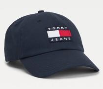 Bio-Baumwoll-Cap mit Badge
