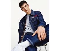Oversized Fit Jeansjacke aus Bio-Baumwolle