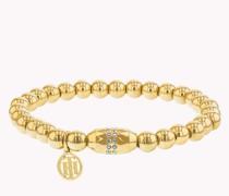 Elastisches Armband mit Perlen