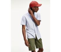TH Flex Kurzarm-Hemd mit Nadelstreifen