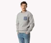 Sweatshirt Aus Baumwollstrick