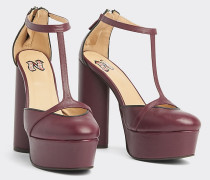 Zendaya Platform-Schuh aus Leder