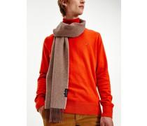 Uptown Woll-Schal mit Fischgrätmuster