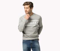 Denton - Rundhals-sweatshirt Aus Baumwoll-mix