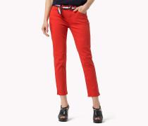 Gekürzte Milan Slim Fit Jeans