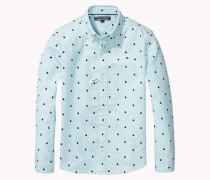 Regular Fit Hemd mit Print