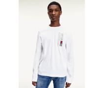 New York-Langarmshirt aus Bio-Baumwolle