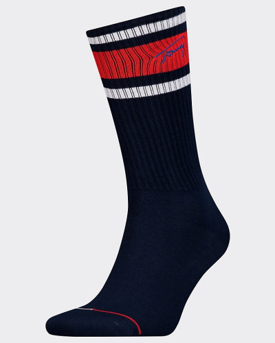 1er-Pack Socken in Blockfarben