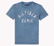 Hilfiger Rundhals-t-shirt Aus Baumwoll-jersey