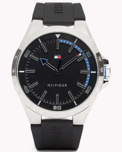 Schwarze Riverside Armbanduhr