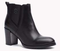 Ankle Boots Aus Leder Mit Absatz