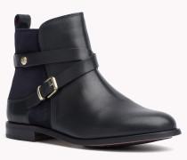 Ankle Boots Aus Leder Und Wildleder