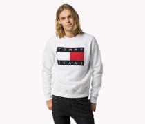 Sweatshirt Mit Flag-logo