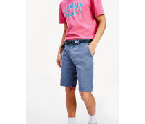 Relaxed Fit Shorts mit Vintage-Wash
