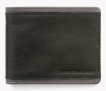 Mini-Portemonnaie aus Leder