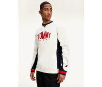 Tommy Icons feuchtigkeitsableitendes Color Block-Sweatshirt