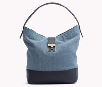 Hobo-Bag aus Denim