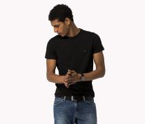 Slim Fit T-Shirt mit Stretchanteil