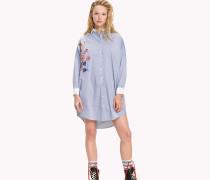 Hemdkleid aus Baumwoll-Mix