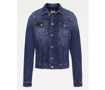 Slim Fit Jeansjacke aus Bio-Baumwolle