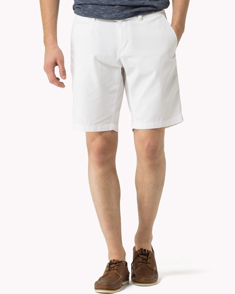 tommy hilfiger herren normale passform shorts reduziert. Black Bedroom Furniture Sets. Home Design Ideas