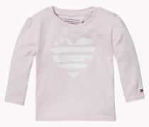 Hilfiger - T-shirt Aus Baumwoll-mix