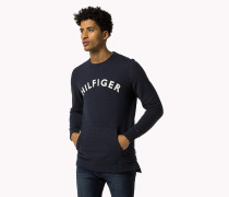 Logo-sweatshirt Aus Baumwolle