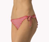 Triangel-bikinihose Mit Rüsche
