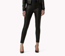 Biker-Jeggings aus Leder