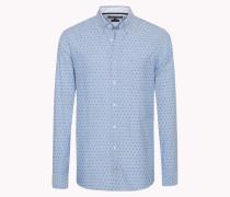Tailliertes Hemd Aus Oxford-baumwolle