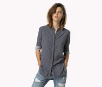 Gemustertes Viskose-hemd