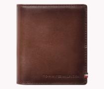 Glänzendes Leder-Portemonnaie