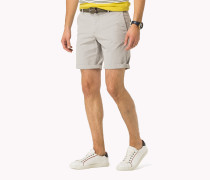 Regular Fit Shorts Aus Baumwoll-mix