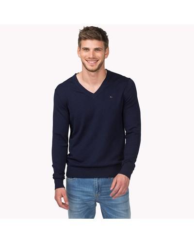 tommy hilfiger herren baumwoll mix sweater reduziert. Black Bedroom Furniture Sets. Home Design Ideas