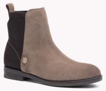 Ankle Boots Im Wildleder-mix