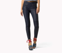 Leder-Jeggings
