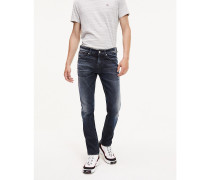 Slim Fit Jeans im Dark-Wash