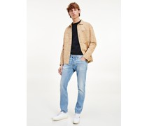 Scanton Slim Jeans mit Fade-Effekt