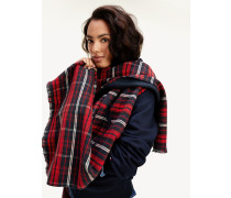 Doppelseitiger Karo-Schal