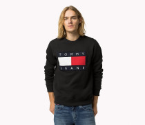 Logo-Sweatshirt aus Baumwoll-Fleece