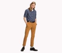 Tailliertes Oxford-Hemd