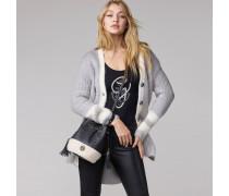 Langer Cardigan Aus Wolle Von Gigi Hadid