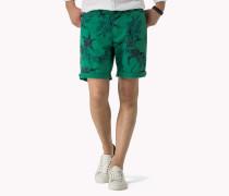 Stückgefärbte Shorts