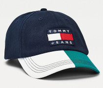 Heritage Baseball-Cap mit Tommy-Badge
