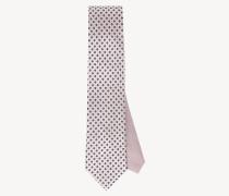 Seiden-Krawatte mit Mikroprint